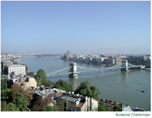 Budapest chainbridge