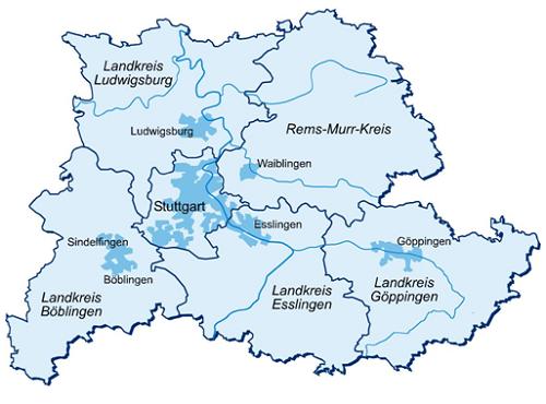 Map of Metropolitan Area