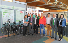 The Madrid Regional Government promotes the combined use of bicycles and public transport