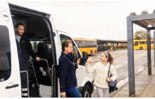 Denmark : Combining demand responsive public transport with fixed bus and train networks in a digital journey planner