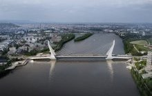 New Danube Bridge planned for Budapest