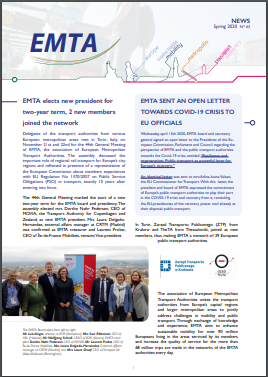 EMTA newsletter Spring 2020 is published