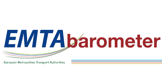 EMTA Barometer of public transport in the European metropolitan areas