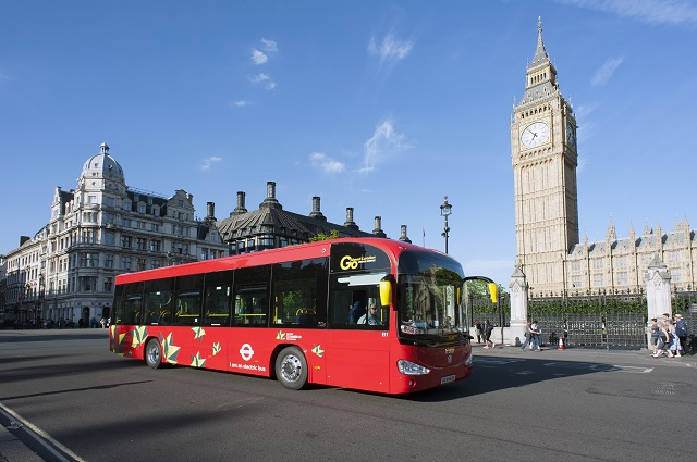 50 all-electric buses to enter service in London