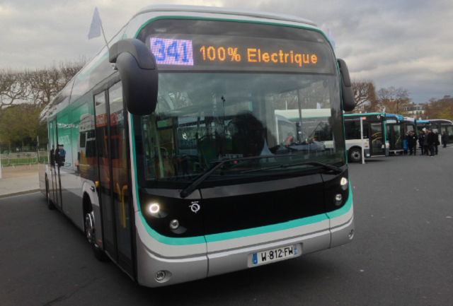 A fully electric standard bus line for the Paris region