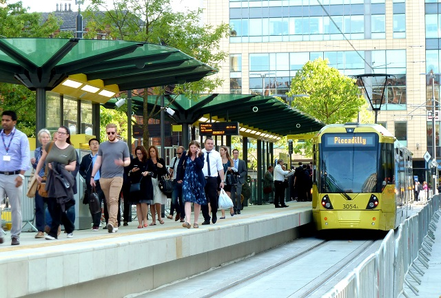 Green light for new Trafford Park Metrolink line, Manchester, UK