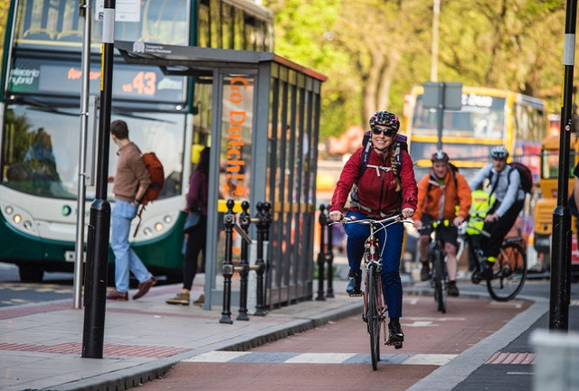 Greater Manchester celebrate success of new cycleway