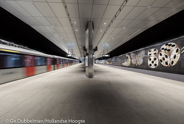 The North/South line: a new metro line for the Amsterdam Region