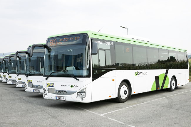 "Public Transport Authority Eastern Region (VOR): Premiere of new ""VORRegio"" busses"