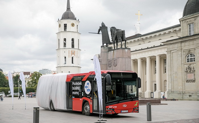 Vilnius is becoming the European capital with the most up-to-date public transport