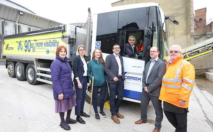 London's safer lorry scheme launched