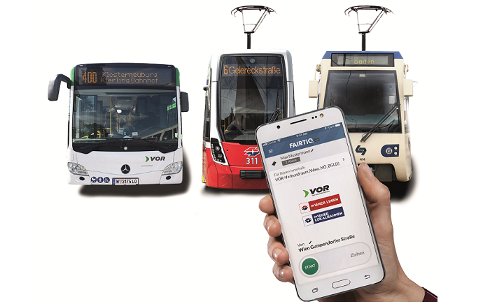 Test for App-based ticketing with best price guarantee in Austria's Eastern Region
