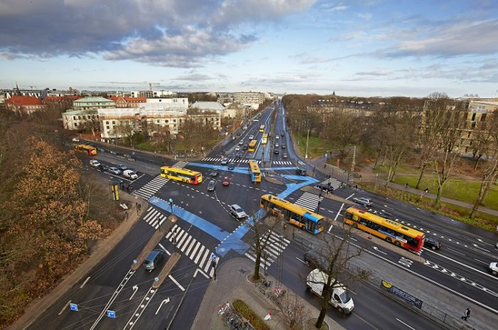 New BRT line on Northern Campus In Copenhagen