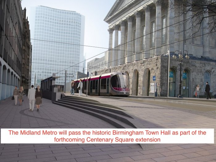 West Midlands : Metro expansion gathers pace